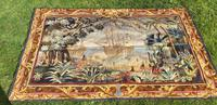 Large Tapestry of Columbus arriving in America
