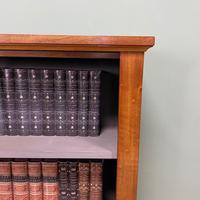 Victorian Mahogany Antique Open Bookcase (3 of 5)