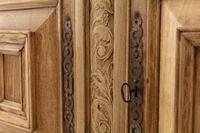 17th Century Flemish Bleached Oak Cabinet (9 of 13)