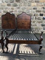 Pair of Antique Mahogany Single Beds (8 of 10)