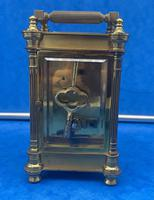Victorian Gilt Brass  Charles Frodsham Carriage Clock (11 of 11)