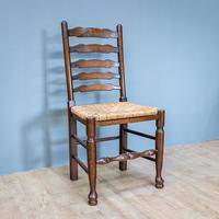 Refectory Table and 8 Ladderback Chairs (10 of 11)