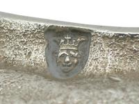 Sterling Silver Tapersticks - Antique George III 1769 (7 of 12)