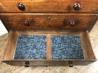 Antique Welsh Oak & Mahogany Chest of Drawers (4 of 15)