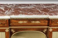 Regency Period Goncalo Alves Side Cabinet of Slightly Inverted Breakfront Form (8 of 8)