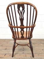 Antique Windsor Armchair in Elm & Ash (10 of 12)