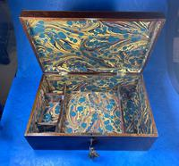 Victorian  Fitted Jewellery Box With Inlay (15 of 15)