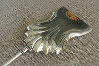 Genuine Victorian Brass Fire Irons Companion Set Tongs Poker Shovel (7 of 7)