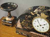 Art Deco Marble Clock Garniture (9 of 13)
