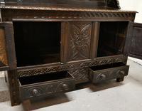 Early 18th Century Carved Oak Buffet Sideboard Dresser (11 of 14)