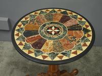 Italian Specimen Marble & Mahogany Table (4 of 12)