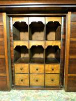 Set of Mahogany Drawers - 10 Large, 6 Small, 6 Small Trays (6 of 10)