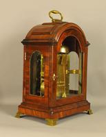 Fine Mahogany Verge Triple Pad Top Bracket Clock - Martineau, London (8 of 13)