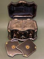 Good Quality 19th Century Papier Mache Tea Caddy (6 of 6)