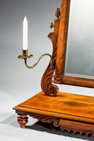 Regency Period Dressing Mirror with Centre Section Drawer (6 of 6)