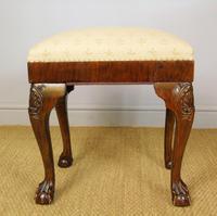 Good Quality Late Victorian Mahogany Stool (5 of 6)