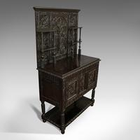 Antique Charles II Revival Dresser, English, Oak, Sideboard, Victorian c.1880 (4 of 10)