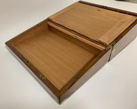 Victorian Walnut Writing Slope Box (10 of 15)
