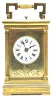 Fine French Repeat Carriage Clock with Foliate Carved Decoration By Charles Frodsham London (11 of 12)
