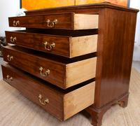 Chest of Drawers Victorian Mahogany 19th Century Straightedge (7 of 9)