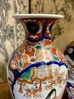 Superb Pair of 19th Century Imari Vases (4 of 6)
