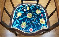 Arts & Crafts Inlaid Armchair by J S Henry 'London' (7 of 9)