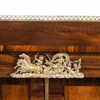 Pair of Late Regency Rosewood Side Cabinets (8 of 8)