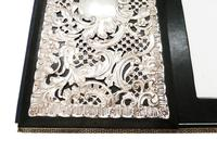 Antique Victorian Sterling Silver Desk Top Stationery Folder 1899 (5 of 9)