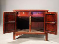 Late 19th Century Chinese Dwarf Cabinet (2 of 4)