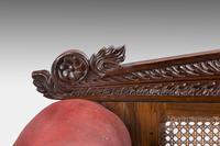 Mid 19th Century Indo-Portuguese Rosewood Sofa (3 of 9)