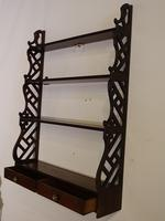 Most Attractive Chippendale Period Mahogany Hanging Rack (3 of 3)