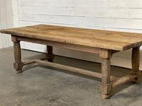 Rare Large & Deep Oak Farmhouse Dining Table (30 of 31)
