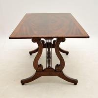Flame Mahogany Regency Style Coffee Table (5 of 8)