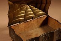 Original Patinated Metal Rectangular Box in the Style of Dagobert Peche Winer Werkstätte (8 of 9)