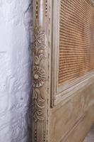 Fabulous Carved French Caned Kingsize  Headboard (3 of 6)