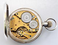 Antique silver Waltham pocket watch, 1903 (5 of 5)