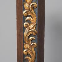 Pair of Gothic Revival Oak Standard Lamps (6 of 12)