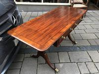 Mahogany Inlaid Sofa Table (10 of 11)