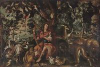 "Rare Antique Georgian Solid Silver Vinaigrette Figural Scene with Animals & Harp ""Orpheus Enchanting Animals""- Joseph Taylor 1827 (3 of 18)"