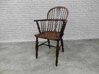 19th Century Windsor Lowback Armchair (2 of 7)