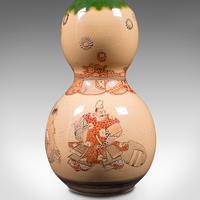 Antique Gerbera Vase, Japanese, Ceramic, Single Stem, Flower, Meiji Period, 1900 (9 of 12)