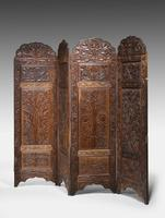 19th Century Carved Eastern Screen (2 of 9)