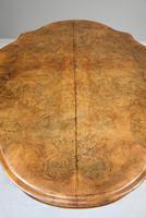 Antique Victorian Figured Walnut Tilt Top Table (11 of 12)