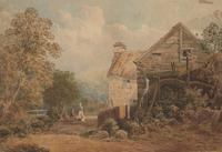 William Charles Goddard Near Saltash Cornish Landscape Painting (6 of 14)