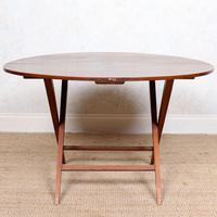 Walnut Folding Coaching Card Table (5 of 11)