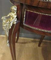 French Circular Bijouterie Table in Walnut & Kingwood 19th Century (6 of 9)