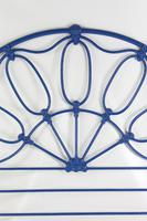 Antique Victorian All Iron Double Bed (4 of 13)