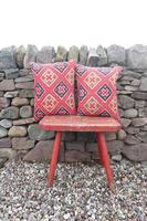 Early 20th Century, Antique Swedish Woven Textile, Geometric Patterned 're-stuffed cushions' (15 of 20)
