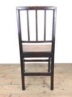 Set of Six 19th Century Welsh Oak Farmhouse Chairs (2 of 14)