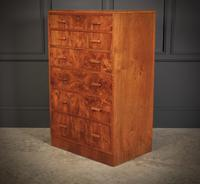 Art Deco Figured Walnut Chest by Maple & Co. (2 of 13)